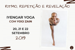 3° WORKSHOP INTERNACIONAL IYENGAR YOGA COM YOGI ZAIN