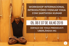 WORKSHOP INTERNACIONAL COM SANTHOSH KUMAR
